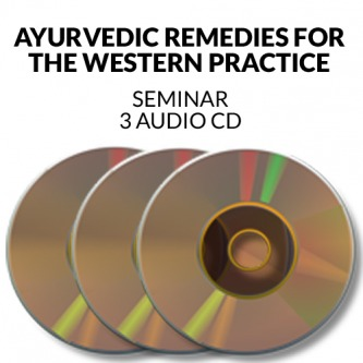 Ayurvedic Remedies for the Western Practice Audio CD