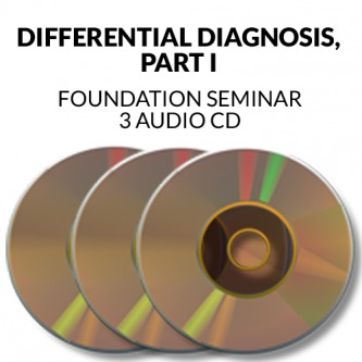 Differential Diagnosis Part 1 Seminar Audio