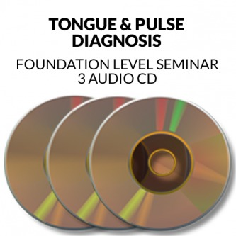 Tongue & Pulse Diagnosis Seminar Audio CD