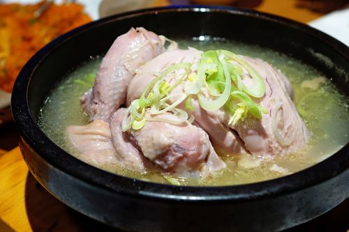 Ginseng Chicken Soup for mental and physical activity