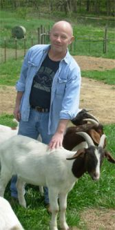 Student Do Daniel with Goat