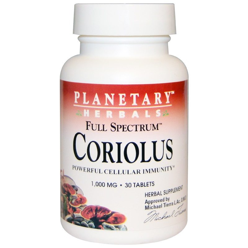 Coriolus 100mg 30 Tablets