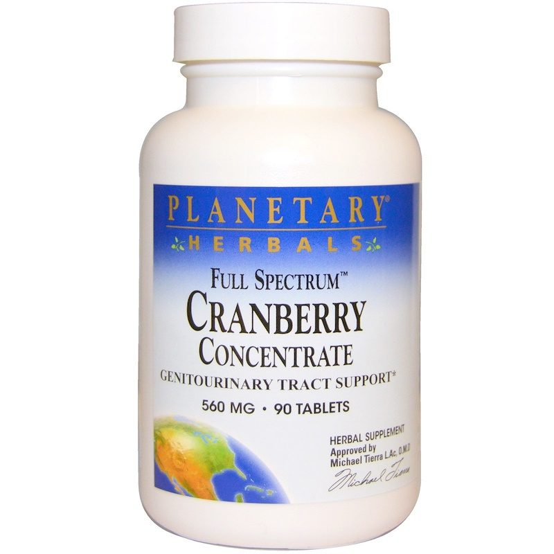 Cranberry Concentrate Full Spectrum 560mg Tablets