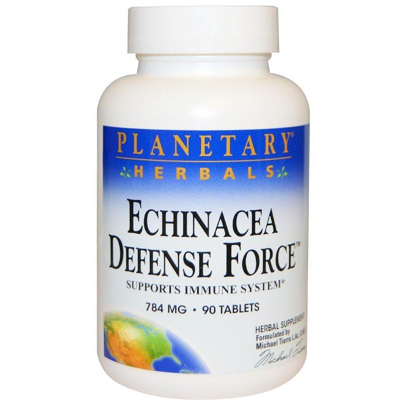 Echinacea Defense Force 784mg 90 Tablets