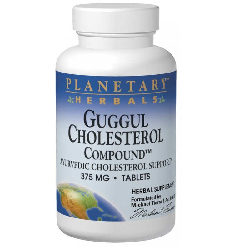 Planetary Herbals Guggul Cholesterol Compound Tablets