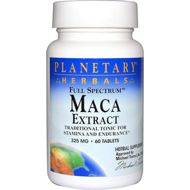 Maca Extract Full Spectrum 325mg 60 Tablets