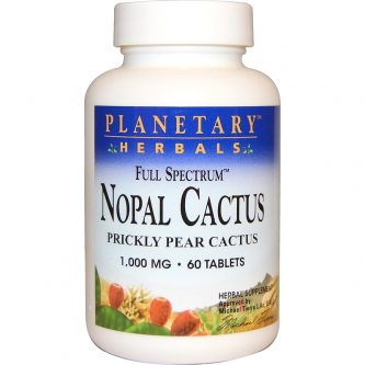 Nopal Cactus Prickly Pear Cactus Full Spectrum 1000mg 60 Tablets