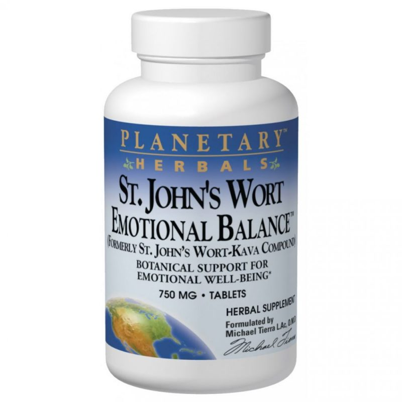 St. John's Wort Emotional Balance 750mg