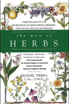 The Way of Herbs book by Michael Tierra