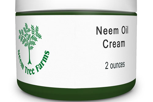 A jar of Neem Oil